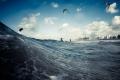 Kite surfing at Scheveningen