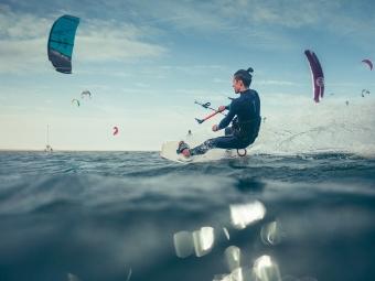 """Kitesurfing spot <br>""""De Zandmotor – Den Haag"""""""